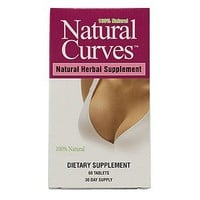 Natural Curves Natural Herbal Supplement, Tablets