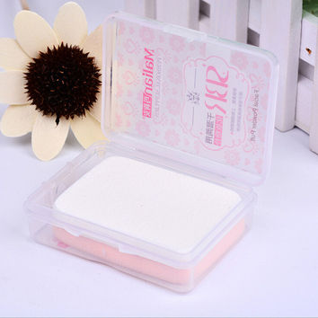 Hot Sale Beauty Make-up Tool Box Set Baby Powder Puff = 4849737988