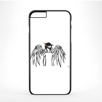 emo angel by linkesammy Iphone 6 Plus | 6s Plus Case