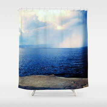 Hydra Shower Curtain by Azima
