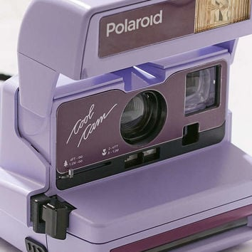 Impossible X UO Refurbished Cool Cam Polaroid 600 Instant Camera   Urban Outfitters