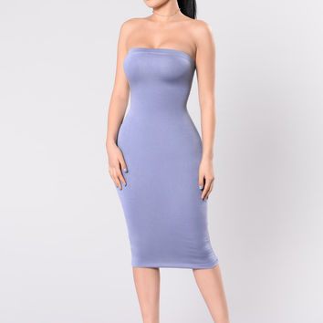 Anna Dress - Powder Blue