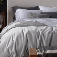 Cloud Brushed Organic Flannel Bedding by Coyuchi