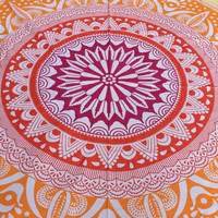 Boho Couch Spread, Bed Spread, Floor Spread, Blanket, Mandala, Tapestry, Bed Couch Cover wall hangingh