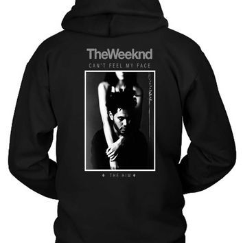 The Weeknd The Him Remix Hoodie Two Sided