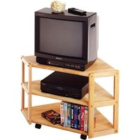 "Derby Beech Corner TV Stand, for TVs up to 27"" - Walmart.com"