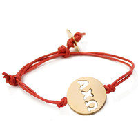 AXO Punch Out Cord Bracelet