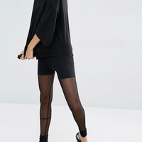 Bones Mesh Leggings at asos.com