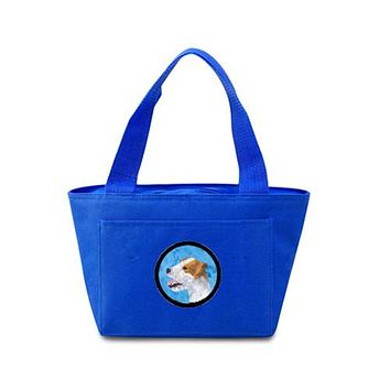 Blue Jack Russell Terrier  Lunch Bag or Doggie Bag SS4780-BU
