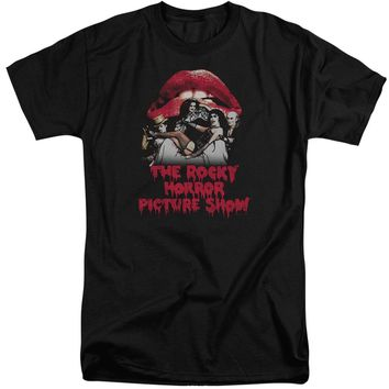 Rocky Horror Picture Show - Casting Throne Short Sleeve Adult Tall