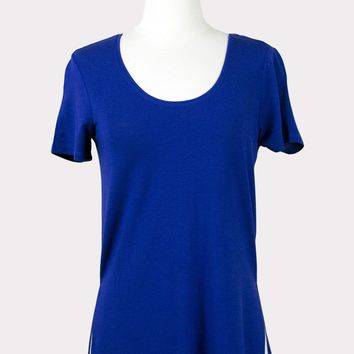 Step Hem Scoop Tee