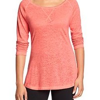 Women's Old Navy Active Burnout Tees