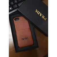 PRADA 2018 new men's and women's iPhone7Plus mobile phone sets F-OF-SJK #1