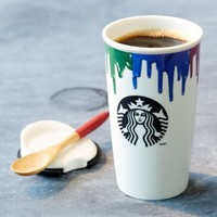 Starbucks Band of Outsiders Limited Double Wall Ceramic Traveler (11038712)