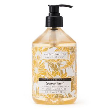 Simple Pleasures Lemon Basil Hand Soap