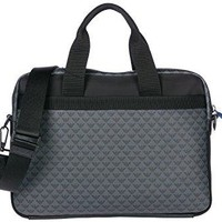 Emporio Armani - briefcase bag, all over logo print