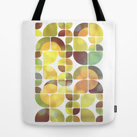 Sunny day pattern Tote Bag by VessDSign