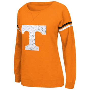 Tennessee Volunteers Womens Vegas Boat Neck Pullover Fleece Sweatshirt – Tennessee Orange