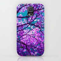 purple tree II Galaxy S5 Case by Blackpool
