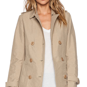 ADD Unlined Trench in Beige
