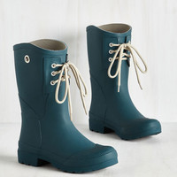 Rainy Route Rain Boot in Marine Blue