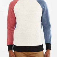 Mismatch Crew Neck Sweatshirt