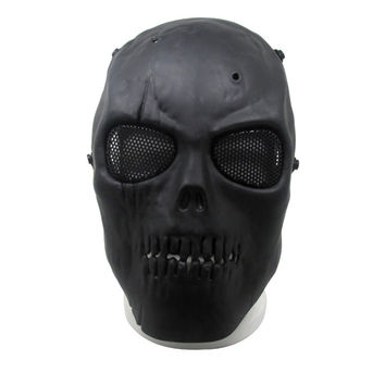 Halloween Mask Skull Full Protective  Mask  Masquerade Party Mask Decoration