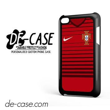 Portugal Soccer Jersey For Ipod 4 Ipod Touch 4 Case Phone Case Gift Present YO