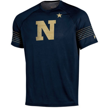 Navy Midshipmen Under Armour Ultimate Performance T-Shirt – Navy Blue