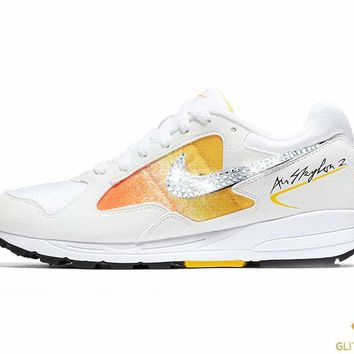 Nike Air Skylon II + Crystals - White/Amarillo