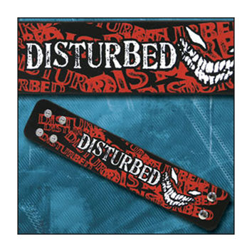Disturbed Men's  Wristband Black