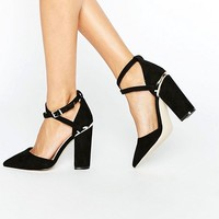 ASOS PAXTON Wide Fit Pointed Heels at asos.com