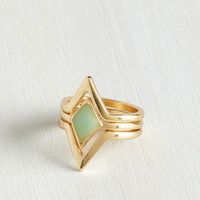 Boho Dew as I Do Ring Set by ModCloth