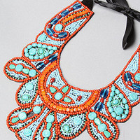 The Turquoise Bib Necklace