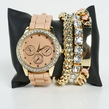 Bracelet Watch Set