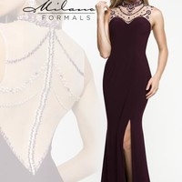Stunning Long Milano Formals Dress E1848