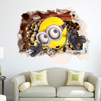 Despicable Me Minion 3D Wall Decal