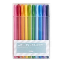 RAINBOW GEL PEN 10PK: ESSENTIAL
