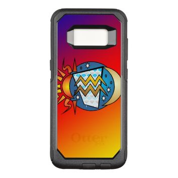 astrology,Aquarius OtterBox Commuter Samsung Galaxy S8 Case