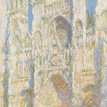 'Claude Monet - Rouen Cathedral' Poster by TexasBarFight