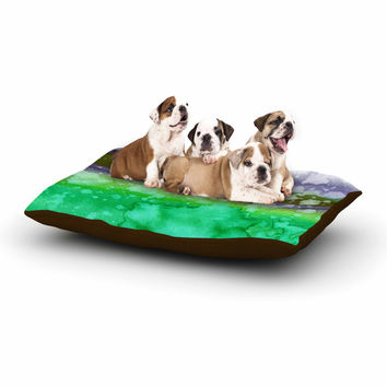 "Ebi Emporium ""California Surf 3"" Green Teal Dog Bed"