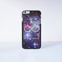 """To infinite and beyond Plastic Phone Case For iPhone iPhone 6 Plus (5.5"""") More Case Style Can Be Selected"""