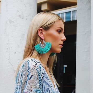 On The Fringe - Boho Earrings