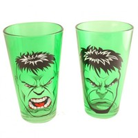 Hulk Face Tumbler Set of 2 Your favorite online gift shop!