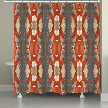 Autumn Crepe Myrtle Shower Curtain