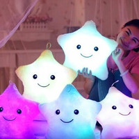 Soft, Plush and Cuddly Glowing LED Light up Stars
