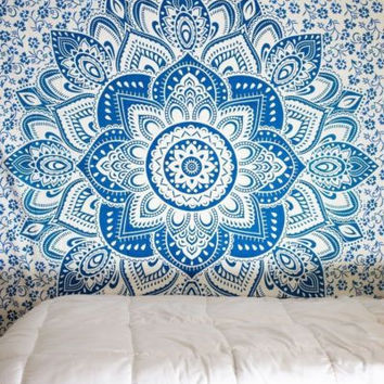 On Sale Bedroom Comfortable Hot Deal Home Bohemia Style Beach Scarf Decoration Bed Sheet [10014501132]