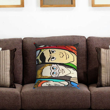 5SOS Superhero 2 Pillow Cover , Custom Zippered Pillow Case One Side Two Sides