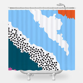 Sentiment Shower Curtain