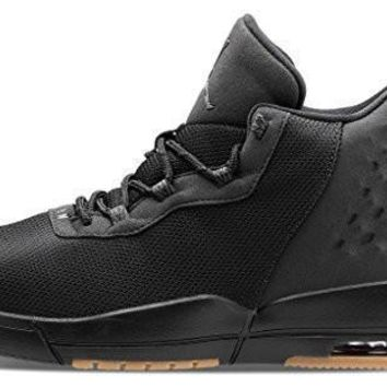 Nike Air Jordan Academy Mens Hi Top Trainers 844515 Sneakers Shoes (US 8.5, black anth